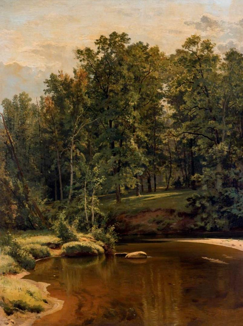 Ivan Ivanovich Shishkin / Forest with a Stream