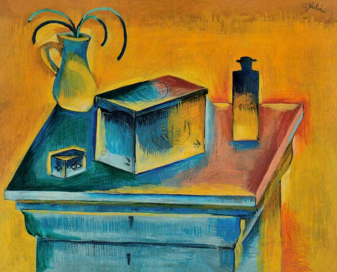 Otakar Coubine / Still Life with a Box