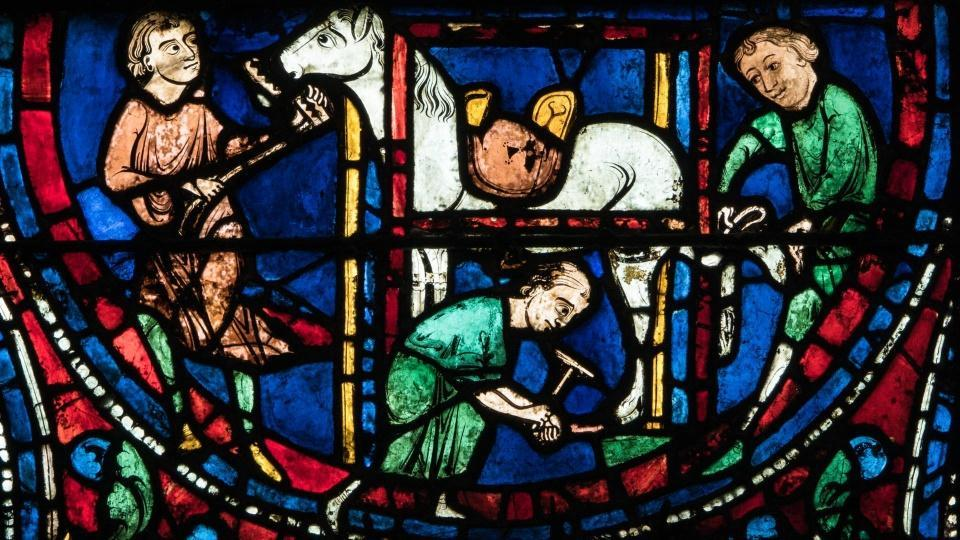 The colourful world of medieval windows