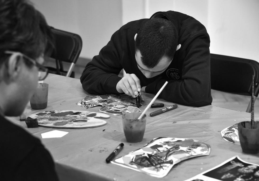 Gallery workshops for the disabled