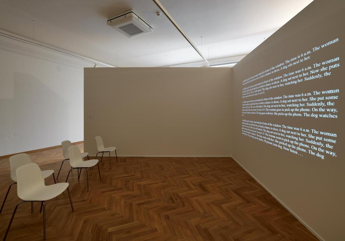 ACQUSITIONS 2018 GVUO: (CON)TEXTS of Ján Mančuška, photo Roman Polášek